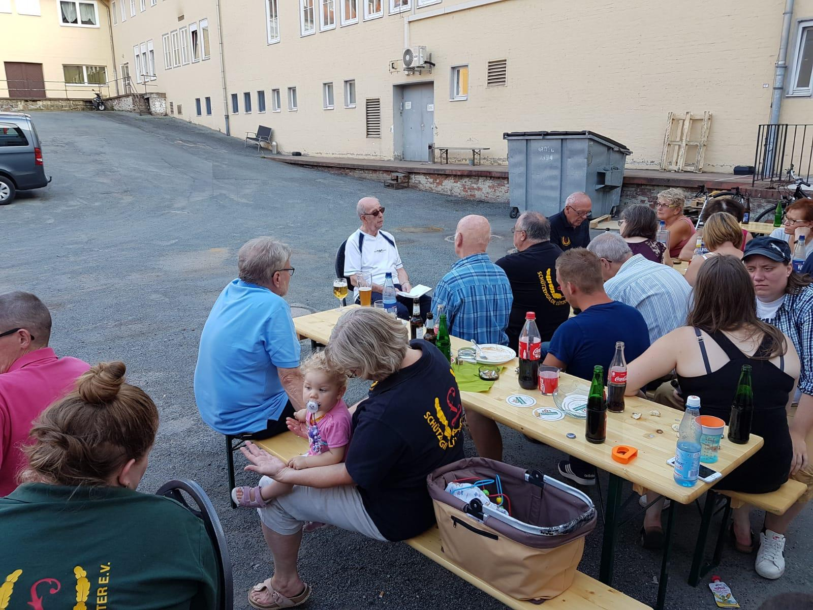Angrillen am 03. August 2018